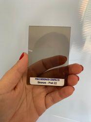 Chapa Policarbonato Compacta Bronze 2,05 x 6,00 mts x 3mm